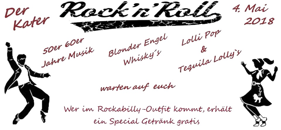 Rock-n-Roll-Party im Kater Soest