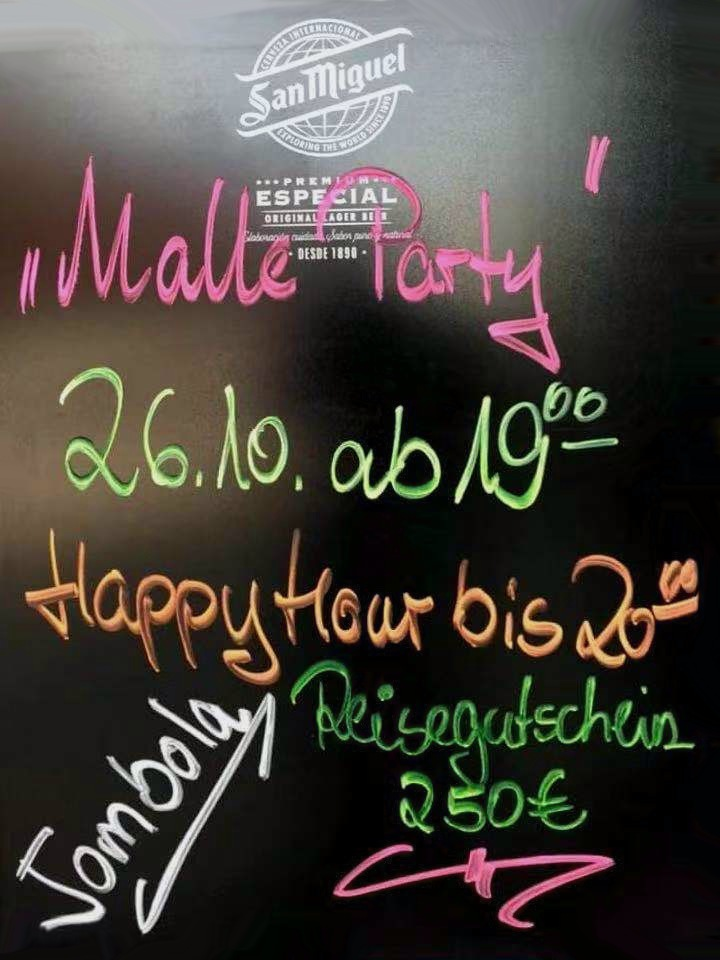 Kater Malle Party